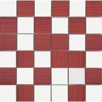 Mosaico Ocean Blanco-Rojo