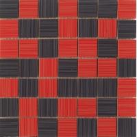Line Mosaico Rojo-Negro