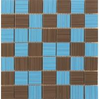 Line Mosaico Azul-Marron