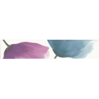 Optic Cenefa Azul-Malva 1