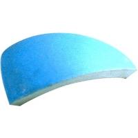 03151 Esquina Media Cana ext. Azul (Round mitre)