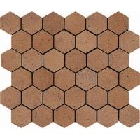 Mosaico Hexagono Ducado Oro